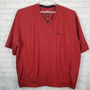 Nike Golf windbreaker shirt El Conquistador XL